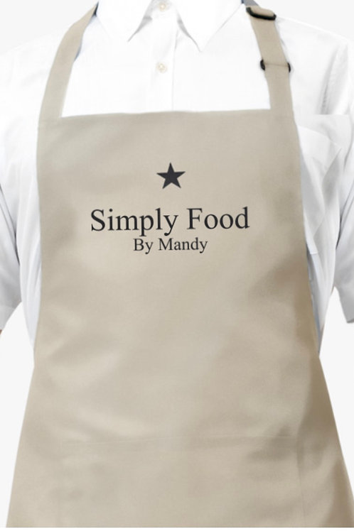 Simply Food By Mandy, Apron