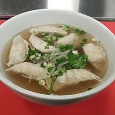 P9. Dumpling Pho without noodles