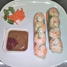A3. Shrimp Spring Rolls (2pcs)