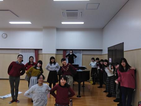 1月11日(木)練習日誌