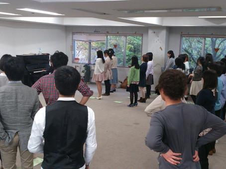 4/14 練習日誌@お茶大 「新歓練習4回目♡」