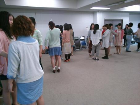 4/17練習日誌@お茶大「新歓練習5回目ー!!!」