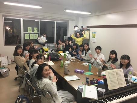 4月18日(木)練習日誌