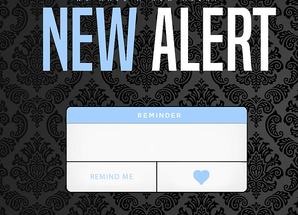 New Alert Blue