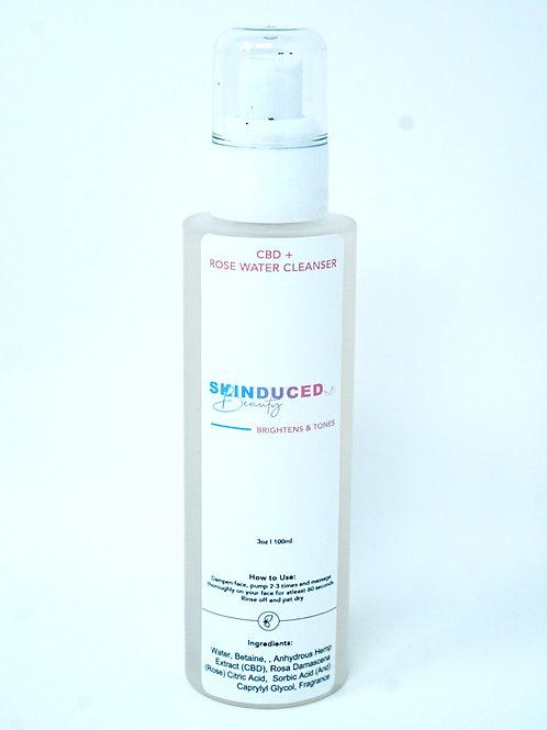 CBD Rose Water Cleanser