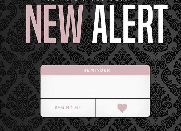 New Alert Pink