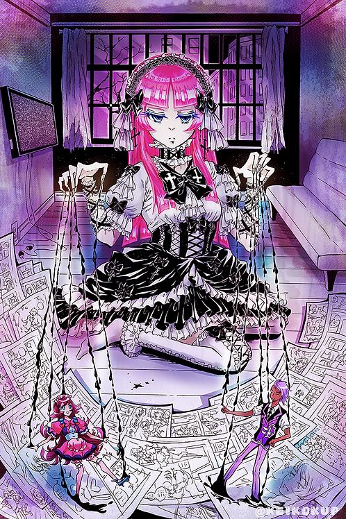 Manga Machine: 11x17in Manga Print