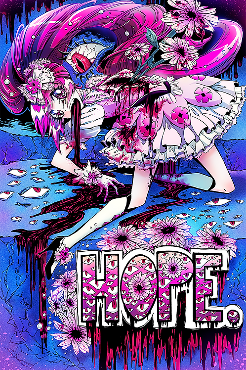 Hope: 11x17in Manga Print
