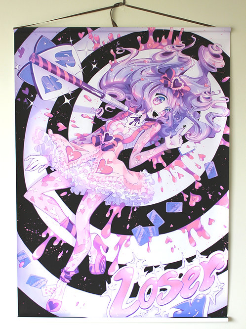 Oversize Anime Wall Scroll: Loser