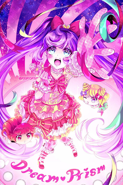Pripara: 11x17in High Quality Manga Print
