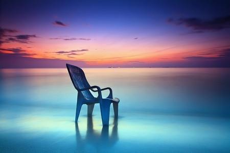 Chair in the Ocean