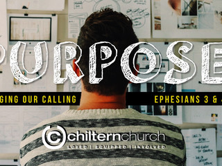 Purpose: Ephesians 3 & 4