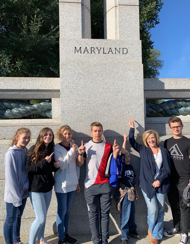 Homeschool field trip to Washington DC
