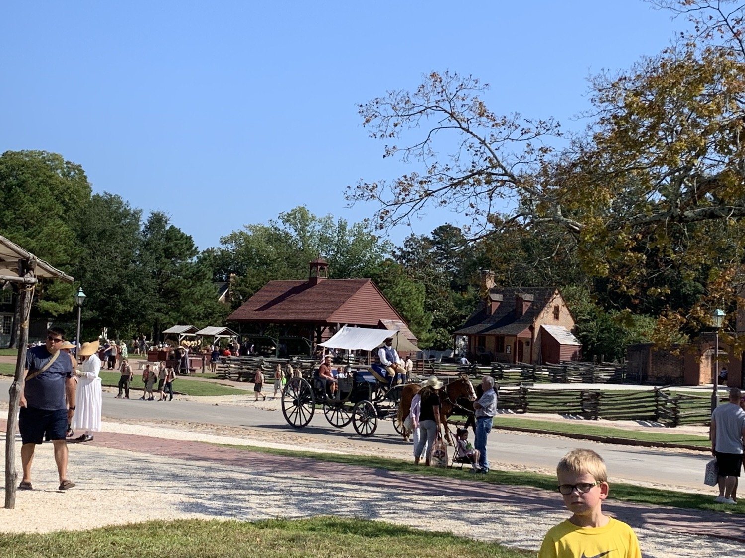 field trip to Colonial Williamsburg