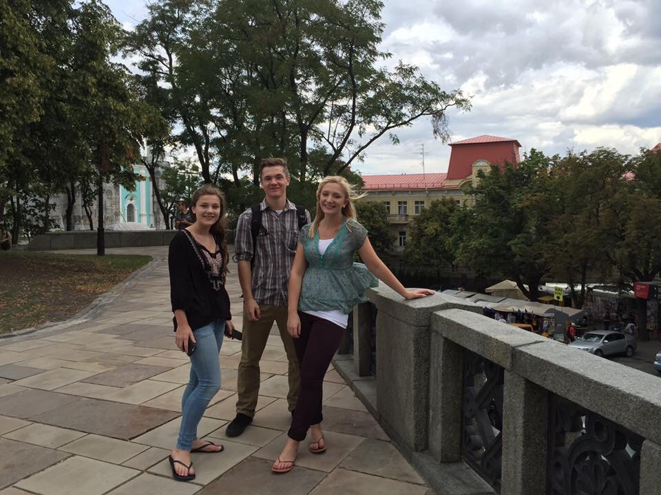 Traveling abroad to Ukraine as a family