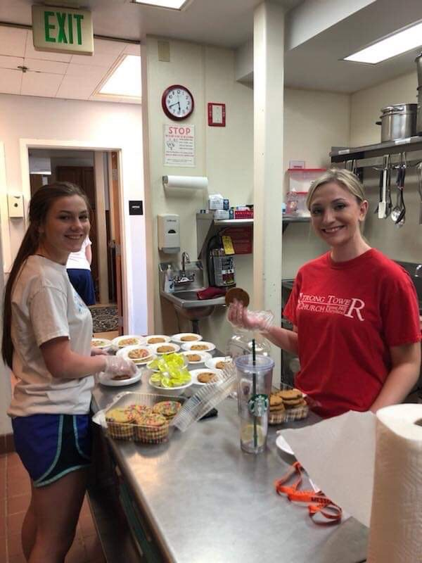 homeschool field trip to help feed the hungry at a soup kitchen