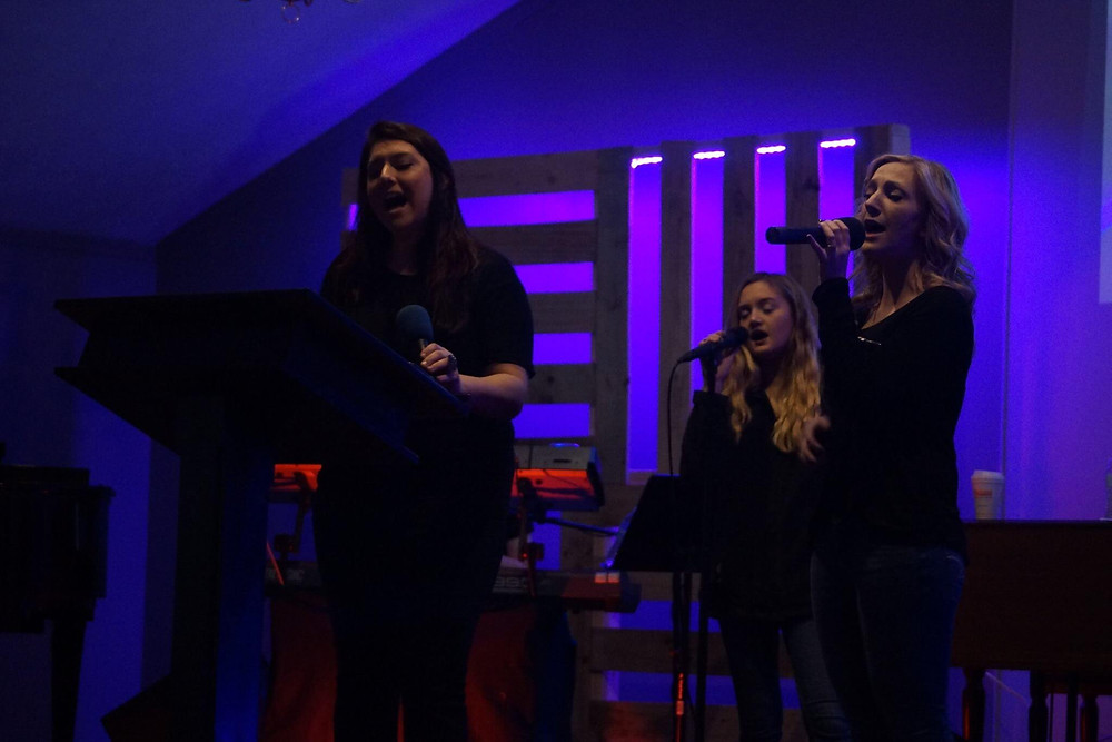 Worship night at Strong Tower Church