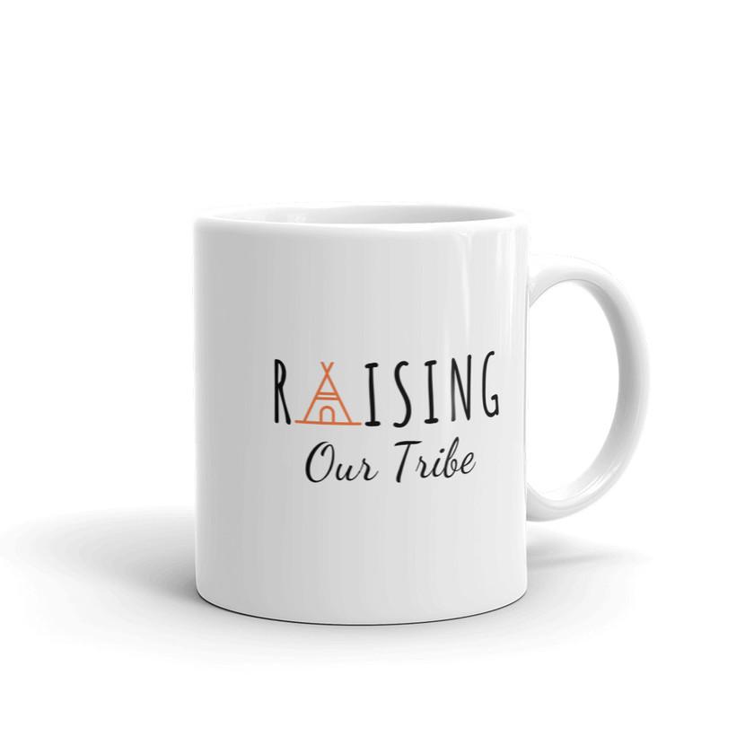 Raising Our Tribe coffee mug