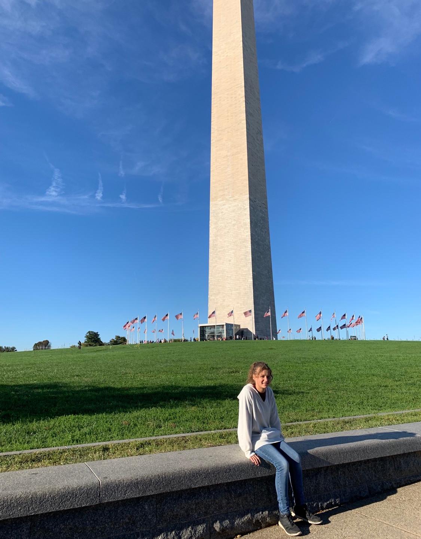 Homeschool field trip to Washington Monument