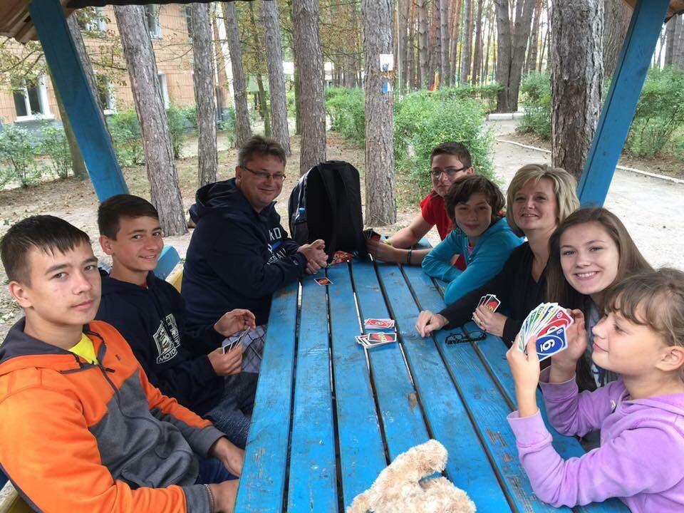 Meeting our children in Ukraine