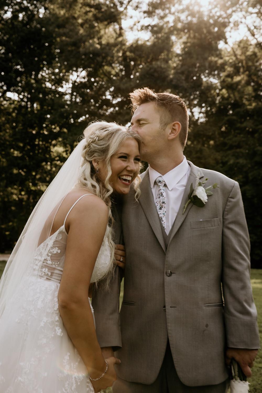 wedding photo at camp hidden valley