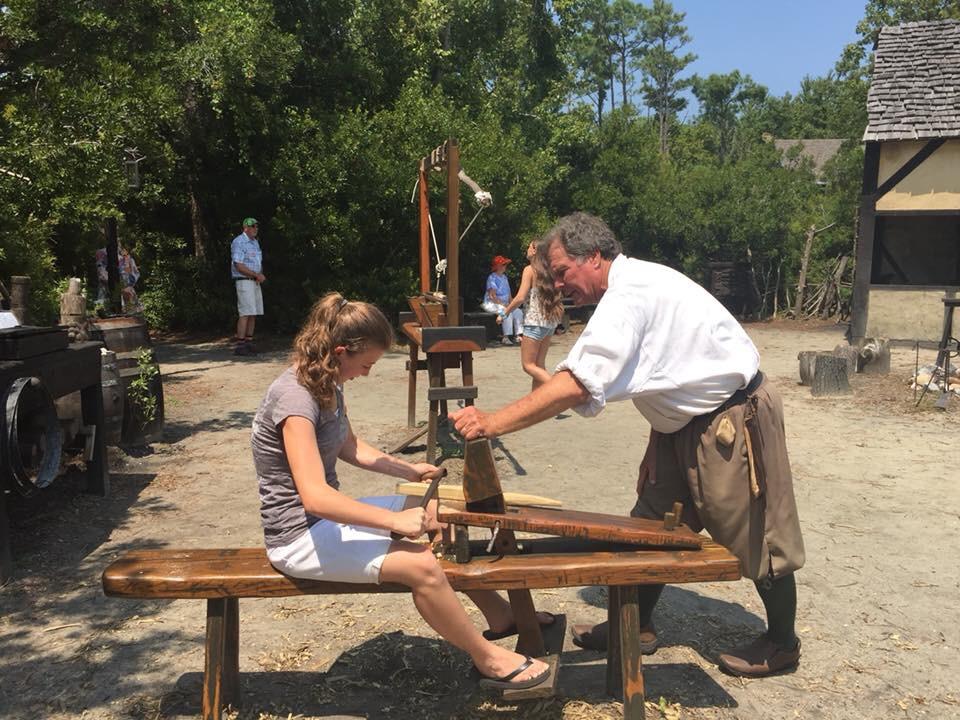 Homeschool field trip to Colonial Williamsburg