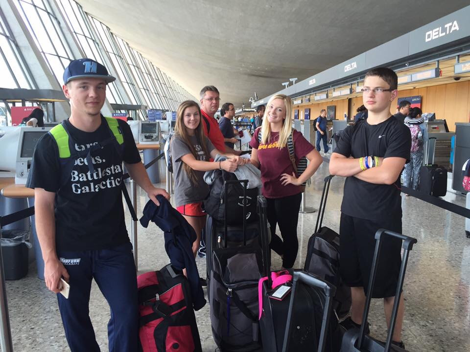Donnelly Family traveling to Ukraine