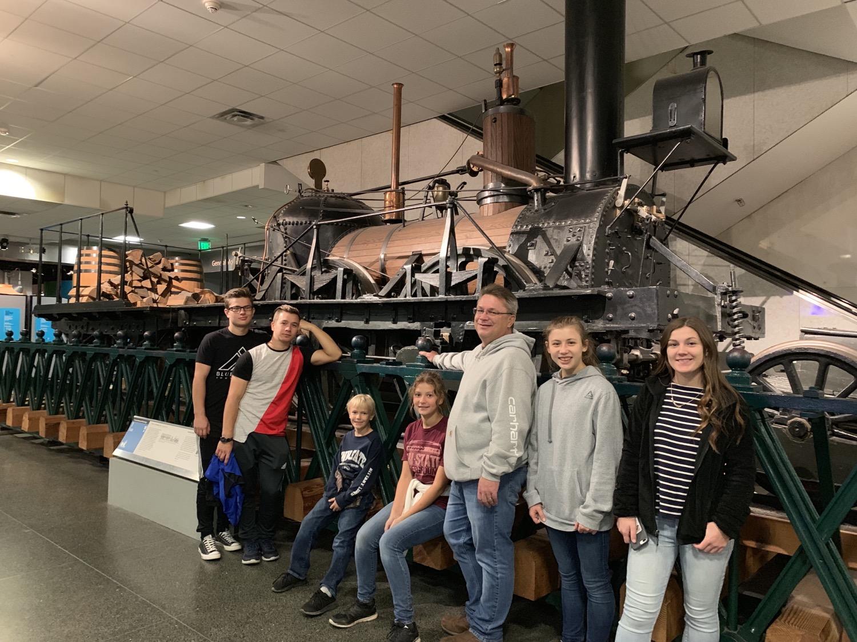 Homeschool field trip to Washington DC Museums