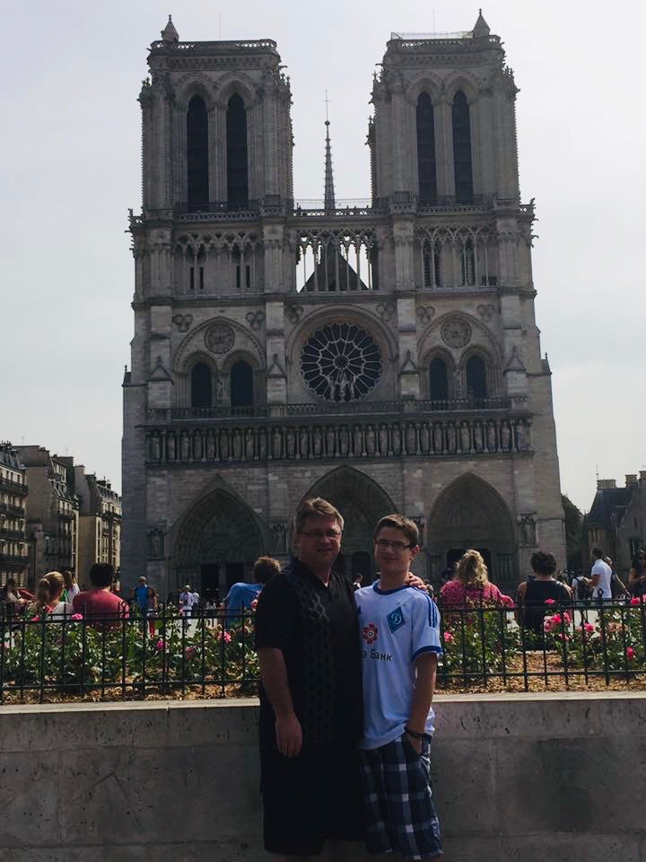 Visiting Notre Dame as a family
