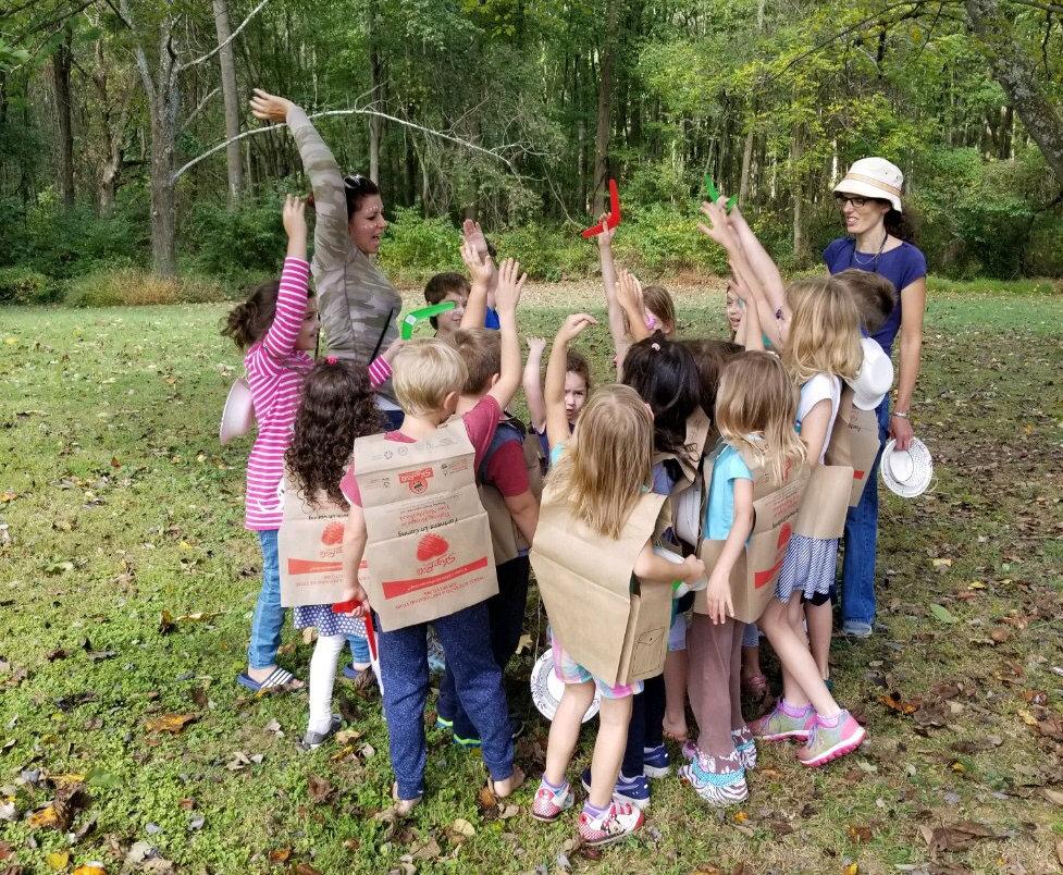 Heritage Academy Umbrella School Field Trip