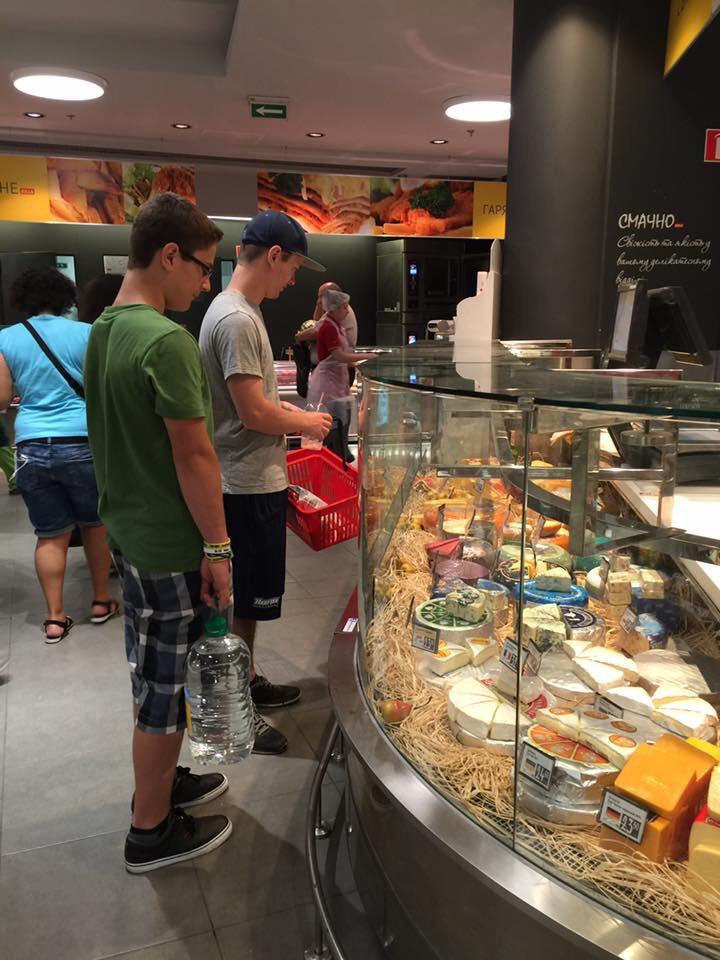Learning international culture through food