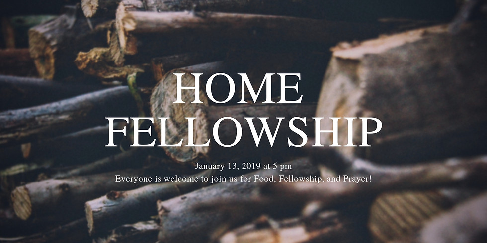 Home Fellowship Night with Strong Tower Church