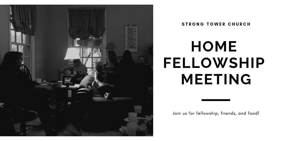 Strong Tower Church Home Fellowship Night