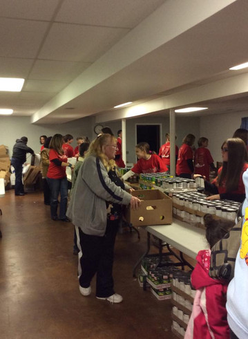 Bread of Life Food Bank at Strong Tower Church in Forest Hill and Bel Air Maryland