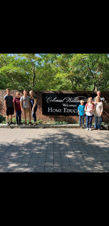 Homeschool day at Colonial Williamsburg
