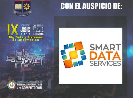 Smart Data Services - Aupiciando a las Jornadas de Ingeniería de Sistemas JISIC 2018 de la Escuela P