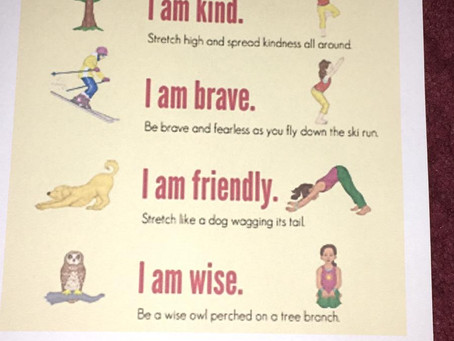 Yoga moves fromJyoti that you may like to try out with your children x