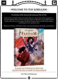 Flames of Freedom_Quickstart Sell Sheet