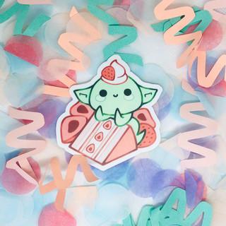 Cake Goblin Sticker