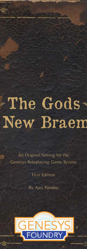 The Gods of New Braemar - TTRPG Book Layout