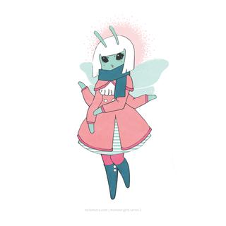 Monster Girls Series 1_Bumble Bee