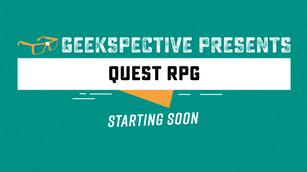 Geekspective Presents - Start Soon Twitch Overlay