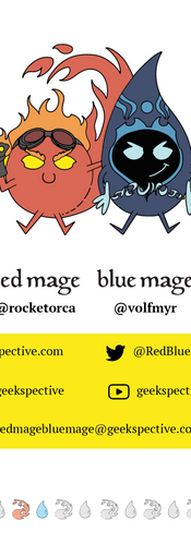 Red Mage Blue Mage Twitch Overlay