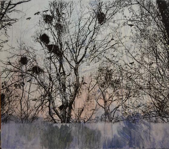 tryk og maling på træ
