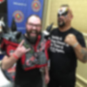 Tim Showers Charleston Artist Comic Con Road Warrior Animal