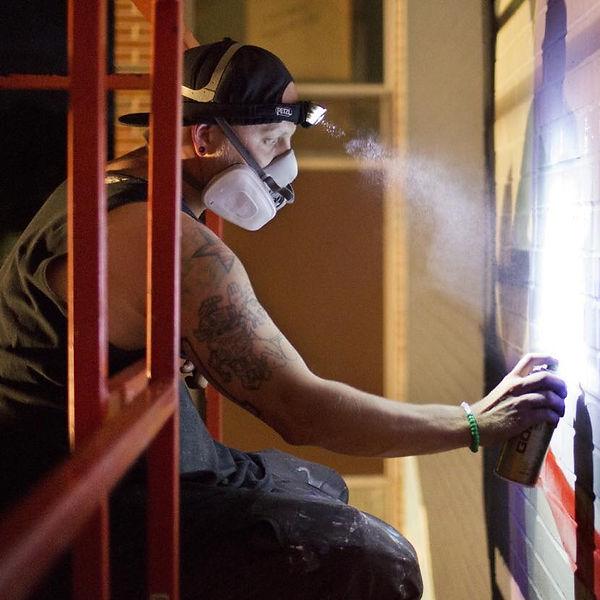 Ghostbeard Matt Hutton Artist Muralist Murals Detroit