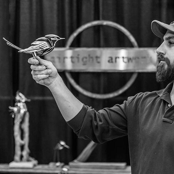 Matt Wilson Airtight Artwork Charleston Flock Birds Wildlife Commission