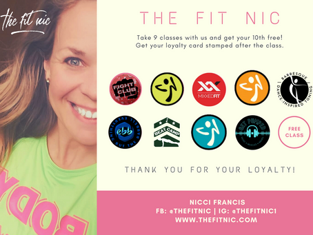 Park After Dark: New Class Day and Loyalty Card!