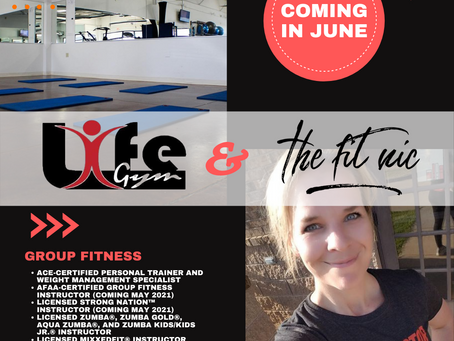 New Location: The Fit Nic + LifeGym