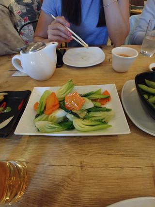 Stir Fry Pak Choi with Garlic